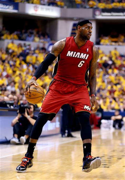 lebron james biography miami heat lebron james pictures miami heat v indiana pacers game