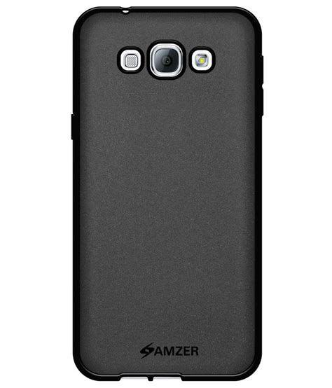 Samsung A800f amzer back cover for samsung galaxy a8 sm a800f black plain back covers at low prices