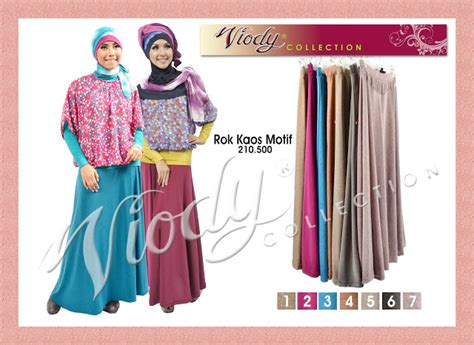 Kaos Babat Tunik All Size baju gamis modern rok viody collection