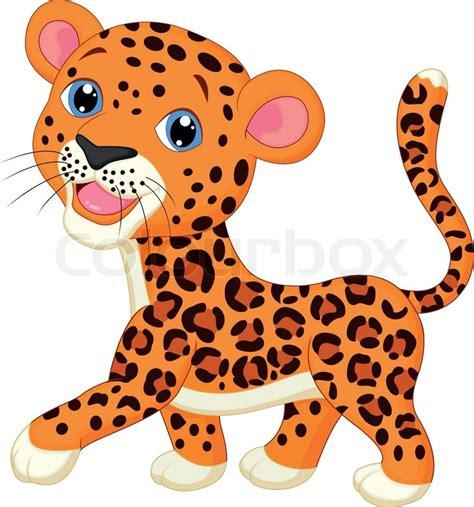 Leopard, gepard, isoliert   Vektorgrafik   Colourbox