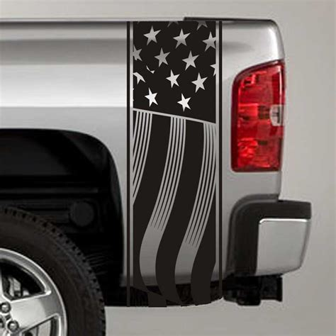 truck bed flag us flag truck bed stripe decals pair jeepazoid