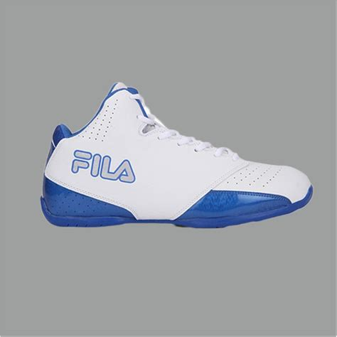 white and blue basketball shoes fila reversal white and blue basketball shoes buy fila