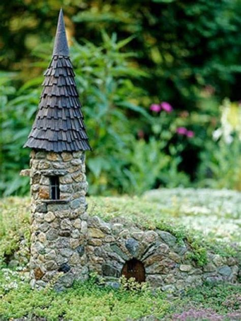 fairy homes stone fairy house how to make your own the whoot