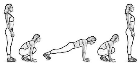 How to do a burpee for fast fat loss slimtea mind