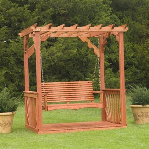 building  porch swing frame home design ideas
