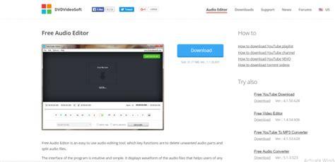 10 perangkat lunak editing audio terbaik untuk mac dan pc
