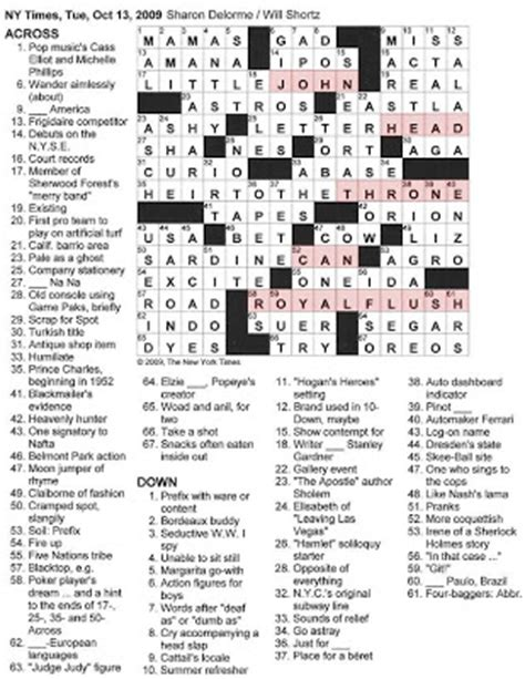 printable usa today crossword math crossword puzzles crosswords pleasant crossword