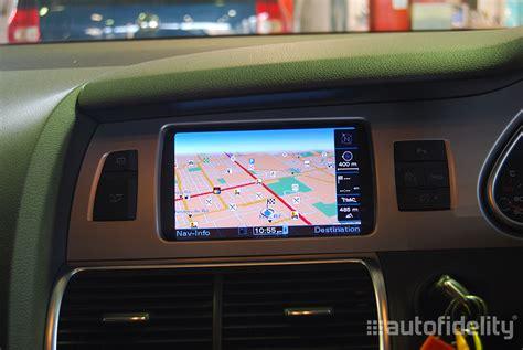 audi q7 navigation system mmi 3g plus navigation system for audi q7 4l autofidelity