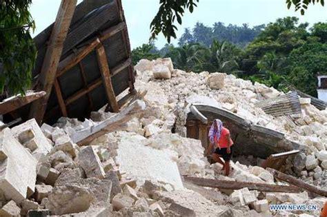 earthquake vietnam philippine earthquake death toll rises to 156 news