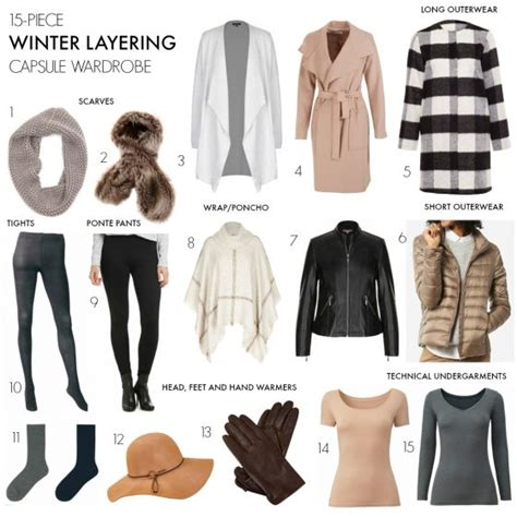 how to layer clothes in winter without looking bulky