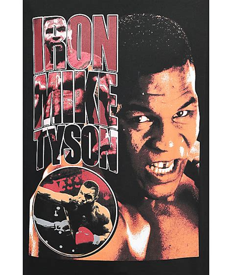 T Shirt Iron Mike Tyson 0nne iron mike tyson black t shirt zumiez