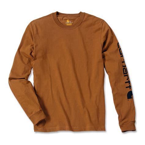 Carhartt Sleeve Logo Original carhartt logo sleeve t shirt ek231 aceworkgear
