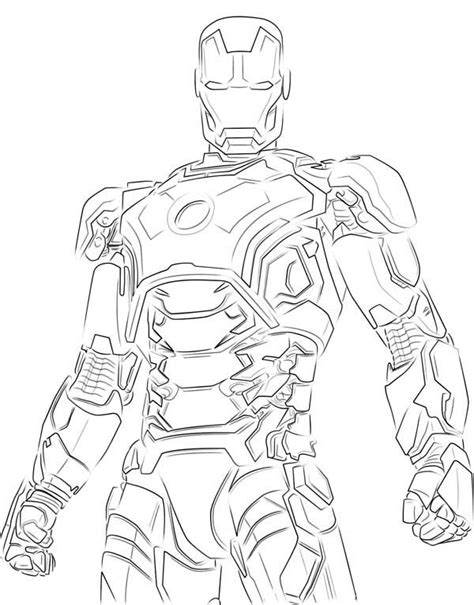 black iron man coloring pages iron man 113 superheroes printable coloring pages