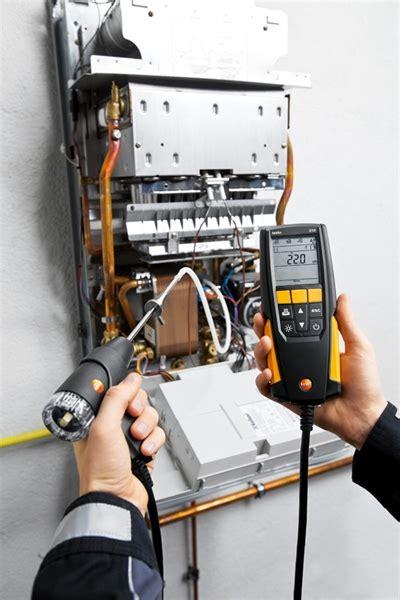 i a testo testo 310 flue gas analyser testo ltd test and