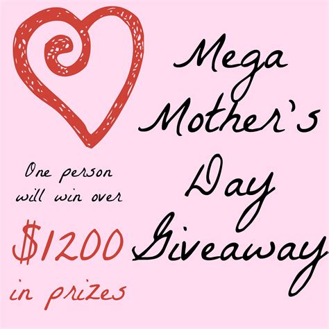 Mother S Day Giveaway - mega mother s day giveaway mom junky