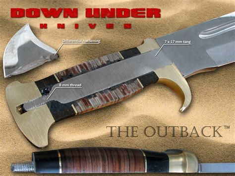 the outback bowie knife knives the outback bowie coltello l446028