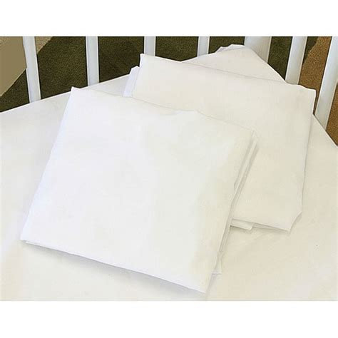 Crib Size Sheets by La Baby Fitted Size Crib Sheet