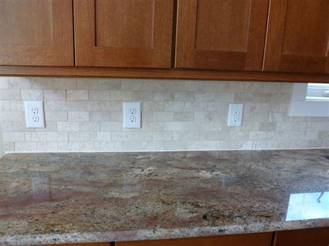 stone subway tile backsplash kitchen remodelling your kitchen decoration with kitchen