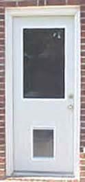 Exterior Door With Doggie Door Exterior Door With Built In Pet Door Pet Ready Xpd50 Door Free Shipping
