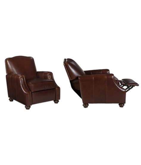 Traditional Leather Recliners by Leather Tight Camel Back Reclining Arm Chair Club