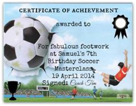 football certificates templates uk 1000 images about soccer on award