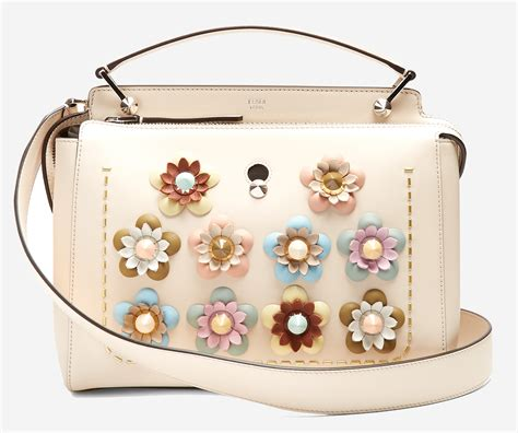 Fendi By The Way Flower Applique Crossbody 8017 7 luxury bags to give you fever
