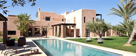 villa e in morocco by deluxe moroccan villa with pool for rent in marrakech