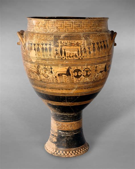 Krater Vase by S History 1 Funerary Krater