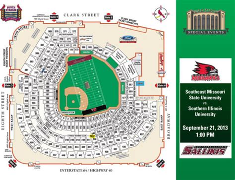 bush stadium seating busch stadium seating chart with seat numbers busch