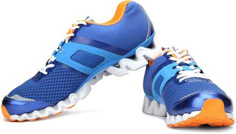 reebok running shoes zigtech reebok zigtech 3 0 running shoes buy blue orange color