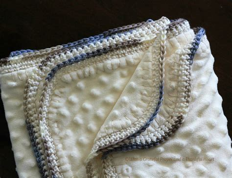 Crochet Edging For Blanket by Crochet Edge Baby Blanket Grateful Prayer Thankful