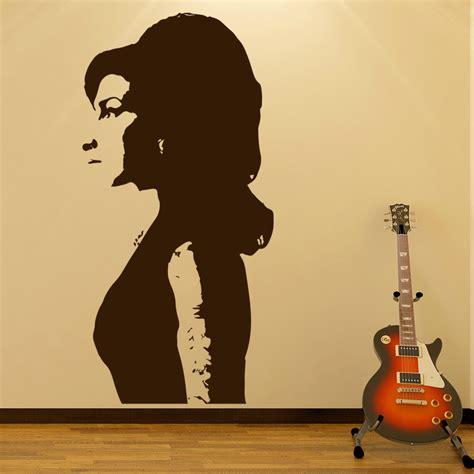 amy winehouse wall sticker jazz  wall decal icon