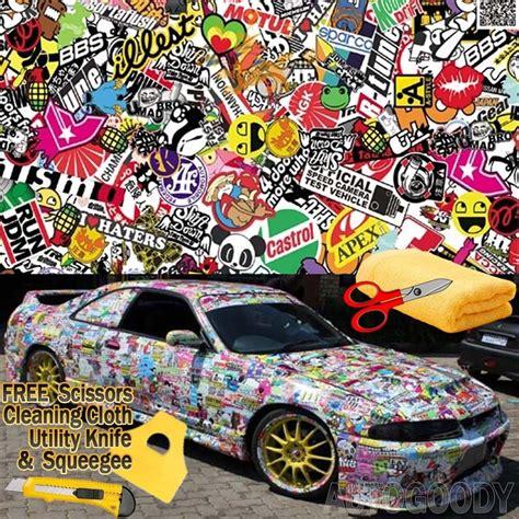 jdm illest stickerbomb graffiti cartoon vinyl