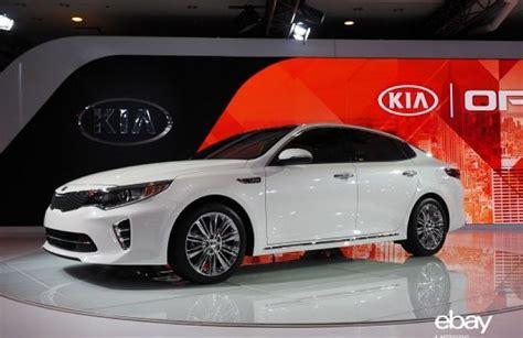 Kia Cars York Redesigned 2016 Kia Optima Revealed At New York Auto Show