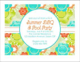 printable summer party invitation pool party by
