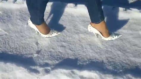 High Heels G d g highheels auf eis und schnee
