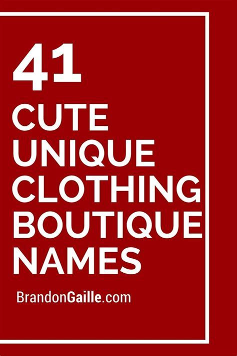 Best 25  Boutique Names ideas only on Pinterest