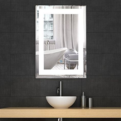 Illuminated Wall Mirrors For Bathroom Illuminated Mirrors Decoraport Vertical Rectangle Led Bathroom Mirror Illuminated Lighted