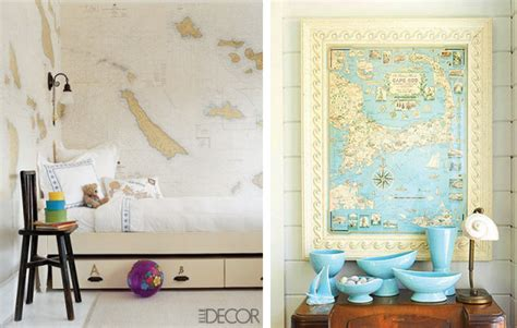 Decorating With Maps by Williams Decorating With Maps