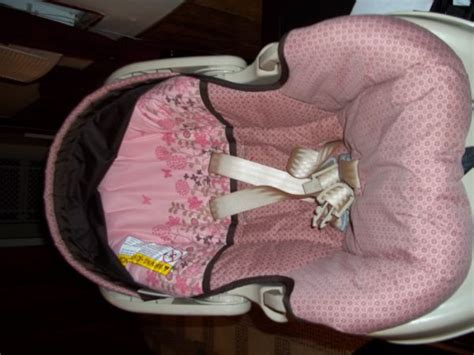 graco car seat pink flowers graco pink and brown flower stroller for sale