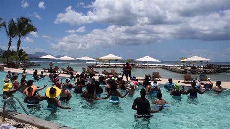 intercontinental mauritius mauritius book now with aqua gym at intercontinental mauritius resort balaclava