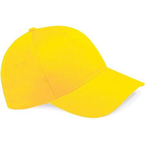 beechfield sunflower yellow baseball cap