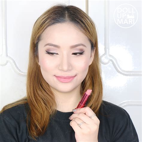 Maybelline Rosy Matte Salmon Pink maybelline rosy matte mat 2 salmon pink review and