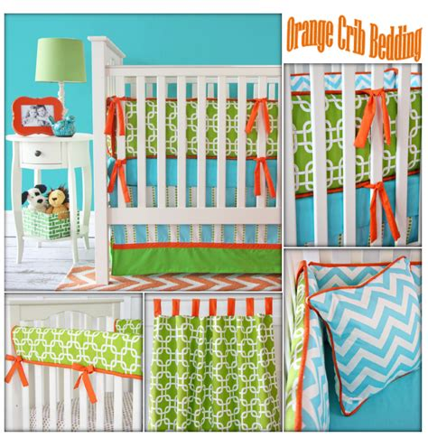 Colorful Crib Bedding by Bright Colored Baby Bedding 3676