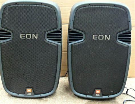 Speaker Jbl Eon usa pawnshop jbl eon 515 speaker system pair