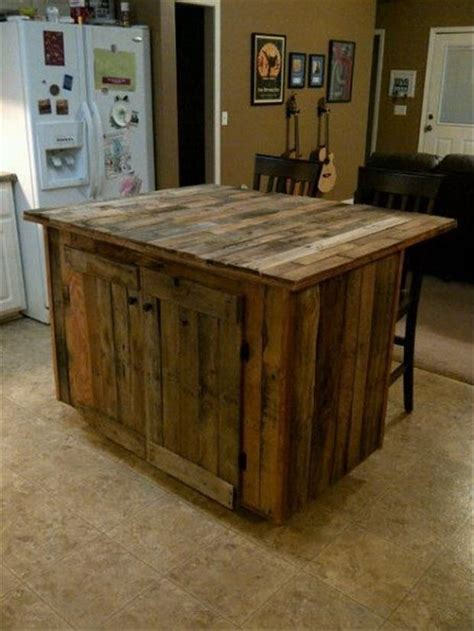 pallet kitchen island 110 pallet ideas that are easy to make and sell