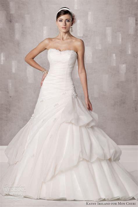 Wedding Dress Ireland by Kathy Ireland For Mon Cheri Fall 2012 Wedding Inspirasi