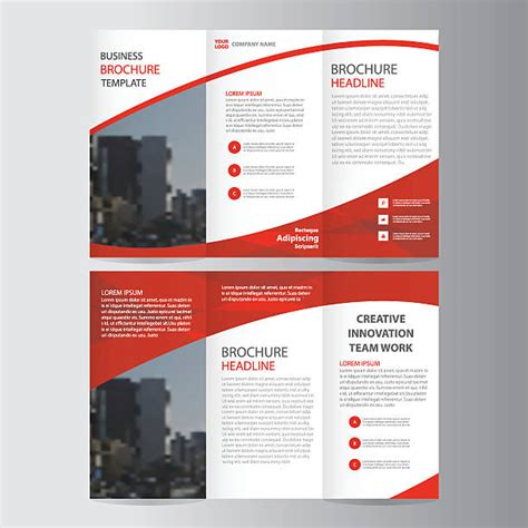 brochure and flyer layout vector 6 royalty free brochure clip art vector images