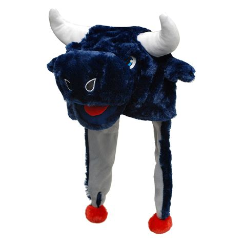 houston texans fan shop forever collectibles houston texans mascot dangle hat