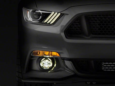 2018 mustang fog lights raxiom mustang oem style fog light kit 394020 15 17 v6